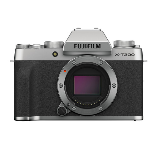 Fujifilm X-T200 Mirrorless Digital Camera Body (Silver)