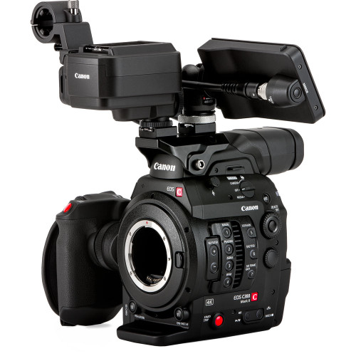 Canon Cinema EOS C300 Mark II Camcorder Body with Touch Focus Kit (EF Mount)