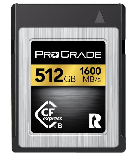 ProGrade 512GB Digital CFexpress 2.0 Gold Memory Card