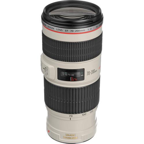 Canon EF 70-200mm f/4L IS USM Autofocus Telephoto Zoom Lens