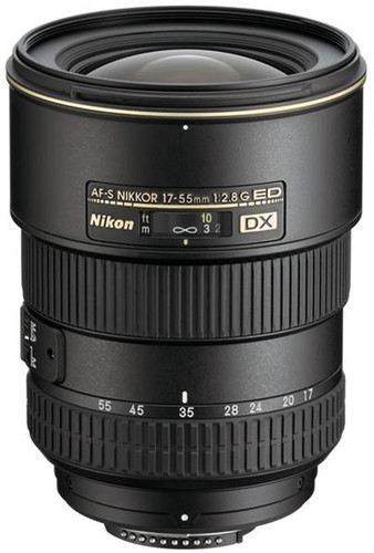 Nikon 17mm - 55mm f/2.8G ED-IF AF-S DX Autofocus Zoom Lens for Digital SLR Cameras
