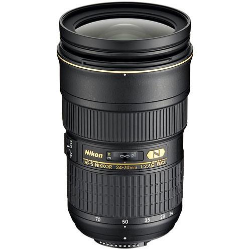 Nikon 24-70mm f/2.8G ED-IF AF-S Wide Angle-Telephoto Zoom Nikkor Lens