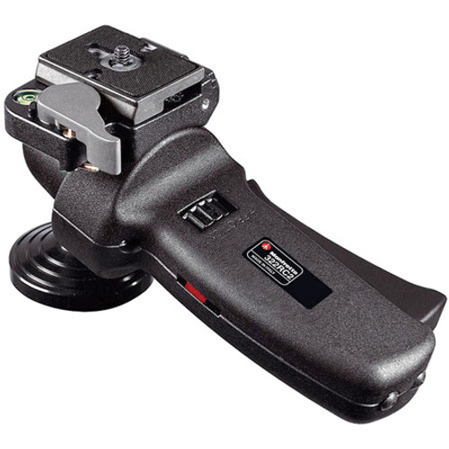 Manfrotto Improved Grip Action Ball Head with Quick Release - Supports 11 lb