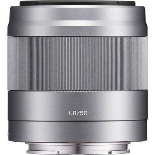 Sony SEL 50mm f/1.8 OSS Lens (Silver)