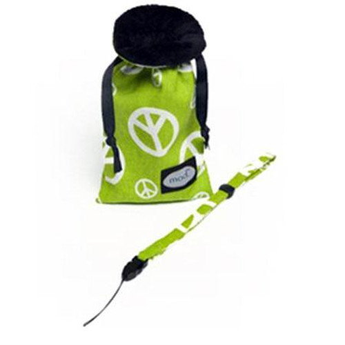MOD Peace Sign Compact Camera Pouch & Strap