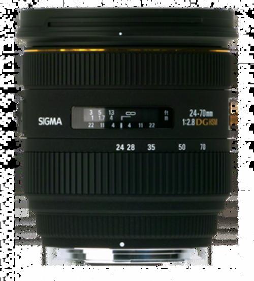 Sigma 24-70mm f/2.8 EX Aspherical IF EX DG HSM AutoFocus Zoom Lens for Maxxum & Sony Alpha Mount - US Warranty