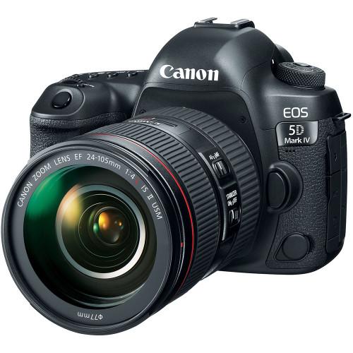 Canon EOS 5D Mark IV with EF 24-105mm f/4L IS II USM Lens