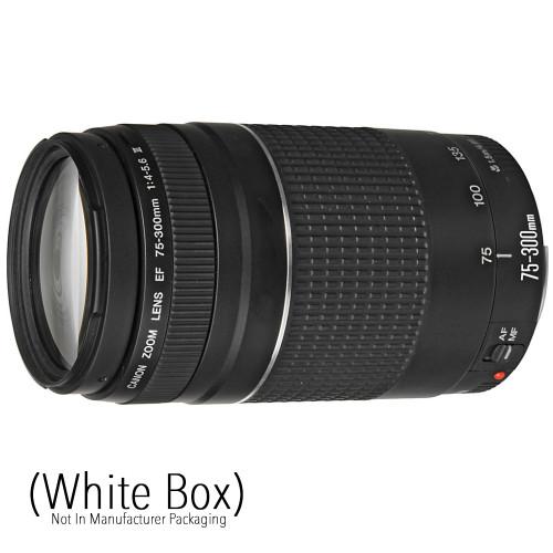 Canon EF 75-300mm f/4.0-5.6 III (White Box Lens)
