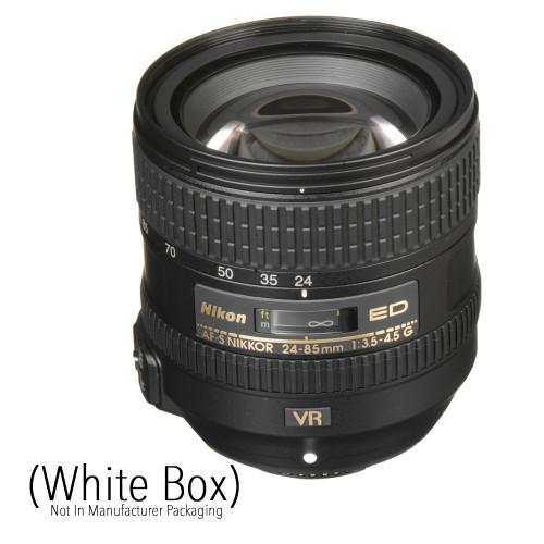NIKKOR AF-S 24-85mm f/3.5-4.5G ED VR Lens (White Box)