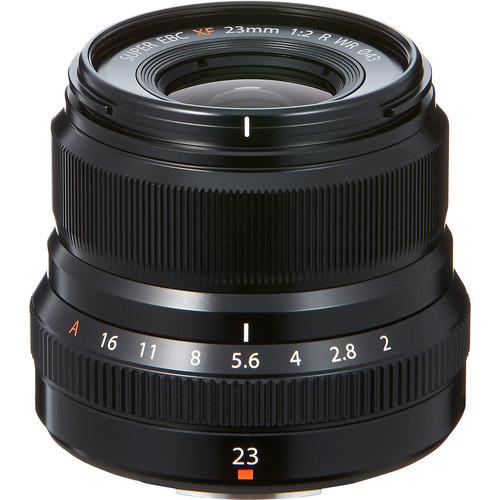 Fuji XF 23mm F/2R WR Black