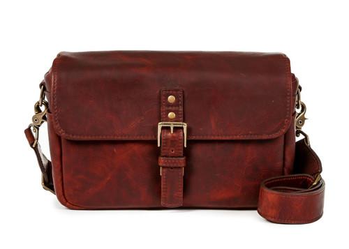 Ona Bowery Leather Messenger Bag (Bordeaux)