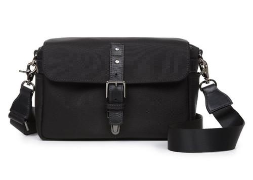 Ona Bowery Nylon Messenger Bag (Black)