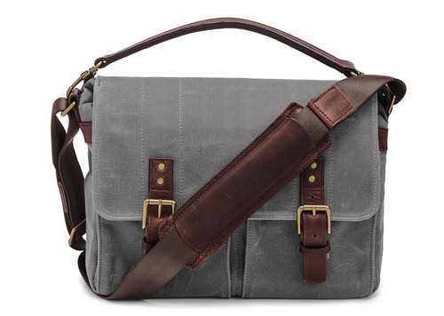 ONA Prince Street Camera Messenger Bag (Smoke)