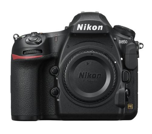 Nikon D850 FX-format Digital SLR Body (Black)