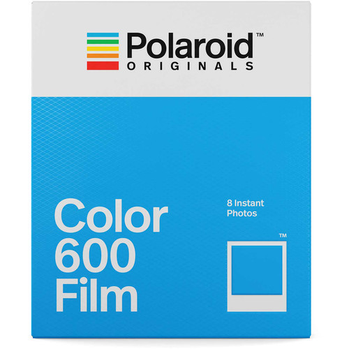 Polaroid Originals Color 600 Instant Film (8 Exposures)