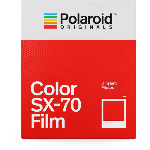 Polaroid Originals Color SX-70 Instant Film (8 Exposures)