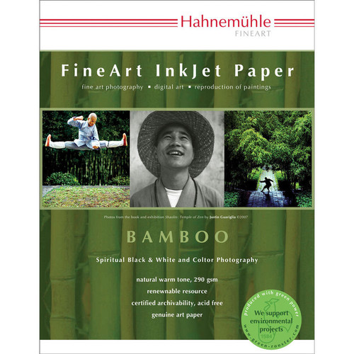 """Hahnemühle Bamboo Fine Art Paper (13 x 19"""", 25 Sheets)"""