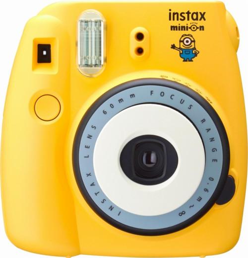 Fujifilm Minion Instax Mini 8 Instant Film Camera
