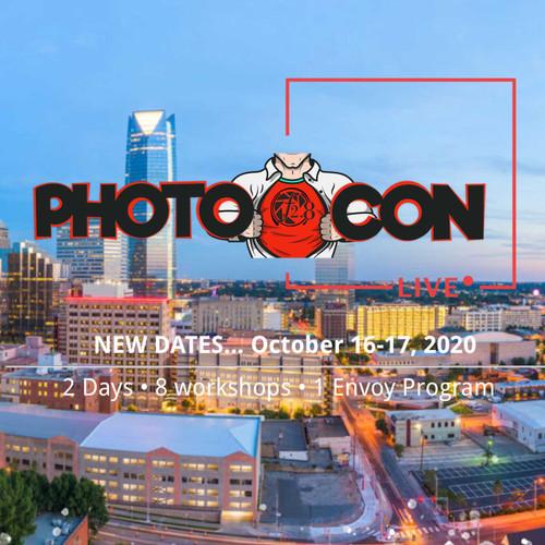 PhotoCon 2020 LIVE!   Oklahoma City   October 15-17, 2020