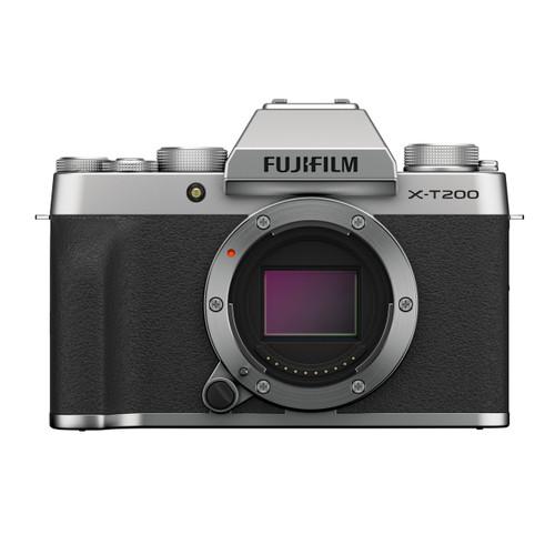 Fujifilm X-T200 Mirrorless Digital Camera Body (Silver)