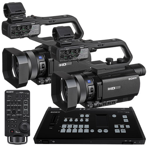 Sony HXR-MC88 Dual Cam Live Stream Production Kit