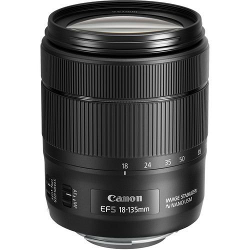 Canon EF-S 18-135mm f/3.5-5.6 IS USM Lens (White Box)