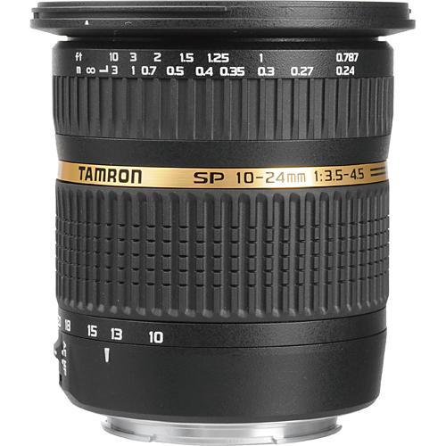 Tamron 10 - 24mm f/3.5-4.5 DI-II LD Aspherical (IF) AF Wide Zoom Lens, for Canon EOS, Nikon Digital SLR Cameras