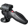 Manfrotto 324RC2 Lightweight Adapto Technopolymer Body Joystick Head with Quick Release, Supports 7.7 lbs.