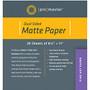 "Promaster PhotoImage Matte Dual Sided Inkjet Paper 8.5 x 11"" (20 sheets)"