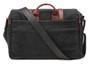 Ona Brixton Canvas Messenger Bag (Black)
