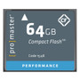 Promaster Performance 500X UDMA 64GB CompactFlash Memory Card