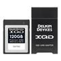 Delkin 120GB XQD Card & XQD Card Reader Combo Pack