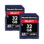 Delkin Devices 32GB Select SDHC UHS-I (V10) Memory Card Dual Pack