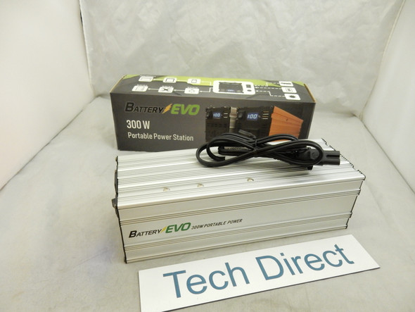 Battery EVO 300W portable power station 160Wh lot of 2