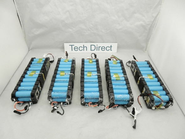 (Lot of 500) 18650 Battery Pack with BMS EVE ICR18650 2550 mAh 20x Cells 36V 5.1Ah 183.6 Wh