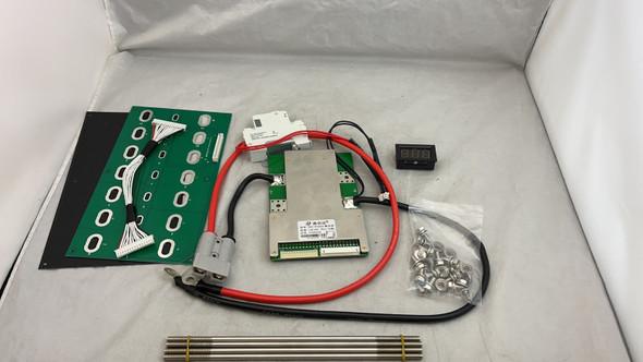 48v 14s BMS assembly Kit 7 Nissan Leaf Lithium ion Battery G1 G2 60A Breaker-1