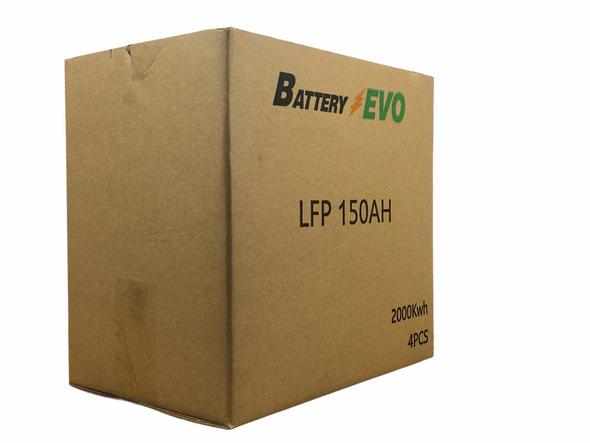 Battery Evo 12V Lithium LiFePO4 150Ah 2 Kwh