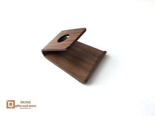 Wooden Walnut Phone/Tablet Holder