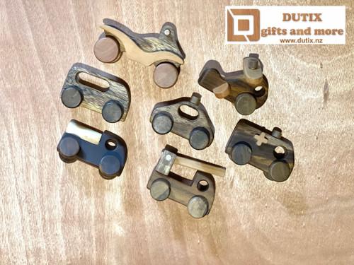 Mini Wooden Toys Set of 7