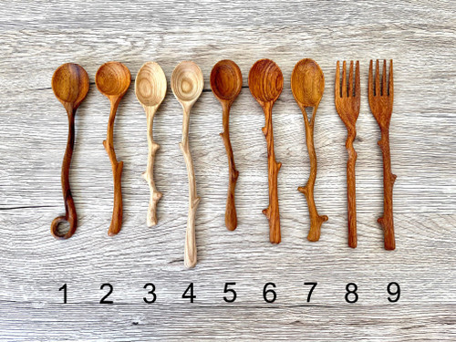 Funky Wooden Spoons