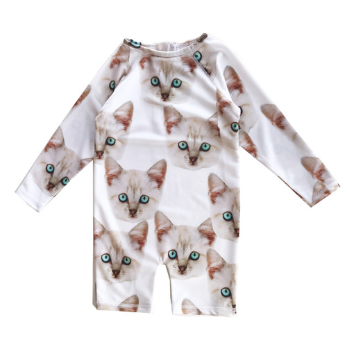 Rash Guard - Kitty