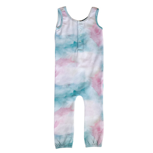 Roro Romper - Cotton Candy