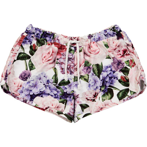 Swim Trunks - Roses