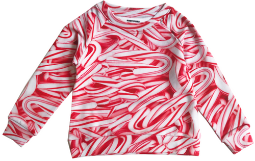Sweatshirt - Candy Canes