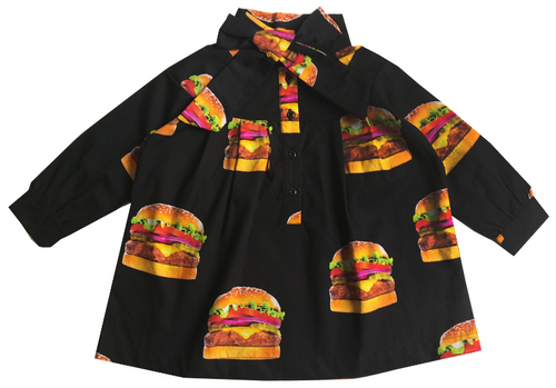 Bow Dress -  Cheeseburgers