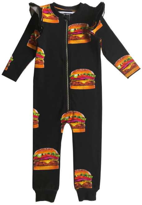 Ruffle Space Suit - Cheeseburgers