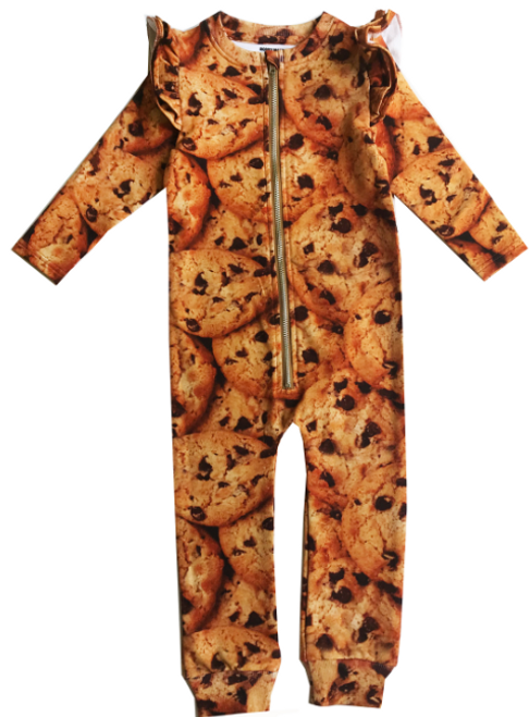Ruffle Space Suit - Chocolate Chip Cookies