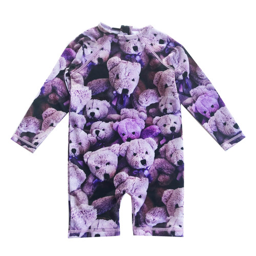 Rash Guard - Purple Bears