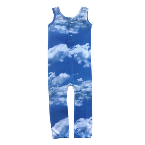 Roro Romper - Clouds