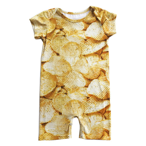 Short Romper - Potato Chips